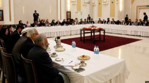 نشست رهبری پیشین شورای عالی صلح