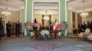 رییس اجراییه افغانستان با معاون اول ریاست جمهوری ایران در ساختمان جمهور کاخ سعد آباد