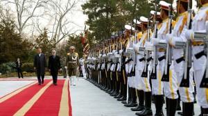 رییس اجراییه افغانستان در آستانه ورود به بندر چابهار