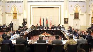 جریان گفتگوهای چهارجانبه در کابل