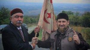 جریان دیدار جنرال دوستم معاون اول رییس جمهور افغانستان با رمضان قدیروف رییس جمهور چچین