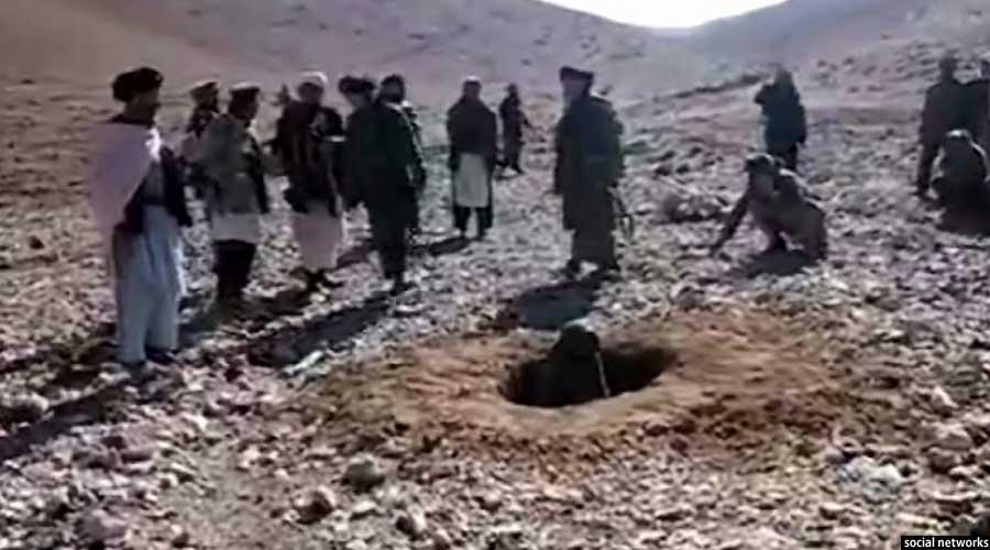 رخشانه، دختر جوانی که در ولایت غور افغانستان سنگسار شد