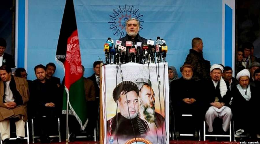 رییس اجراییه افغانستان در جریان سخنرانی در مراسم امروز