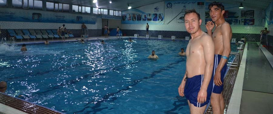 swimming in kabul pools