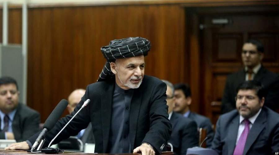 رییس جمهور غنی: طالبان در یک آزمون جدی در انتخاب برای صلح و یا جنگ قرار دارند