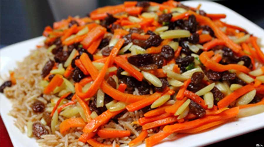 قابلی یکی از غذاهای مورد علاقه افغانها است