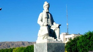 مجسمه ابوالقاسم حسن پور علی طوسی معروف به فردوسی