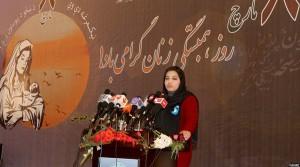 سلیمه صدیقی یکی از اعضای شبکه فعالان جوان برای اصلاح و تغییر