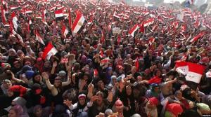 نمایی از تظاهرات میلیونی مصر