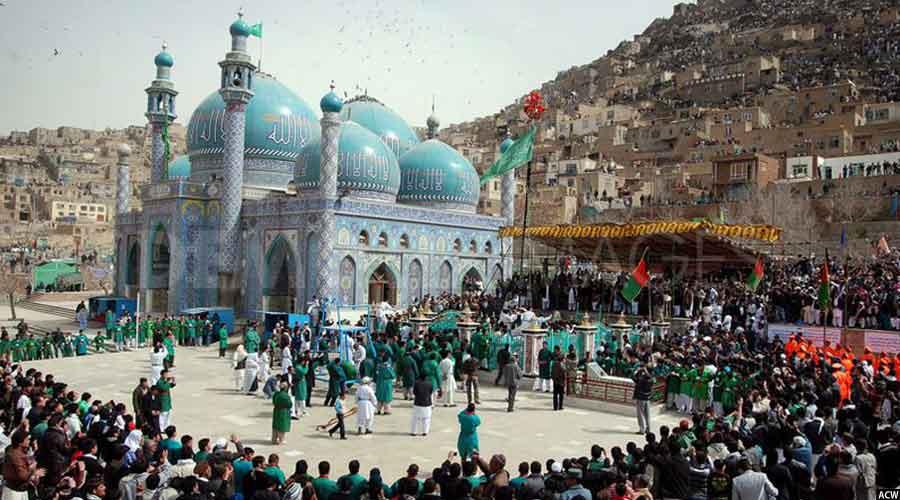 مراسم جهنده بالا در پایتخت افغانستان، چنین مراسمی در ولایت شمالی بلخ نیز برگزار می شود