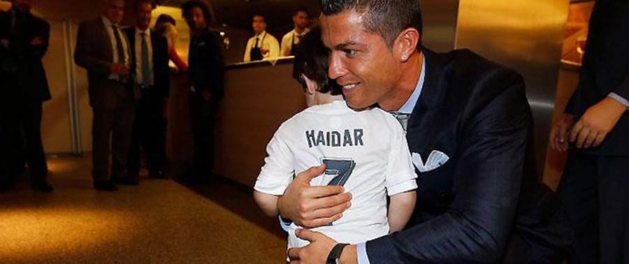 ronaldo-with-haidar in Madrid