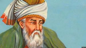 تصویر نقاشی شده مولانا جلال الدین محمد بلخی