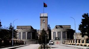 نمایی از درون ارگ ریاست جمهوری افغانستان