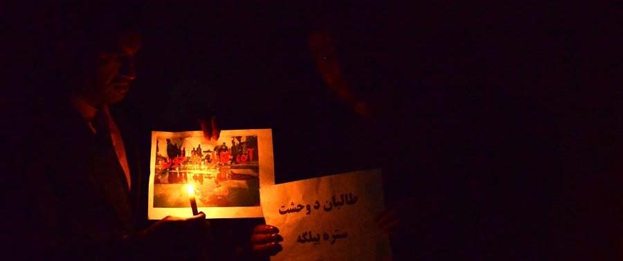 Candlelight Vigil On Kabul Attacks (1)