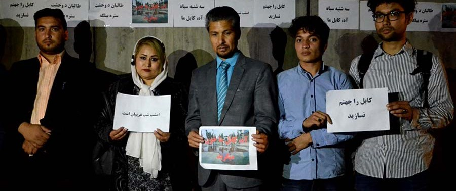 Candlelight Vigil On Kabul Attacks (14)