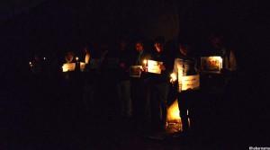 Candlelight Vigil On Kabul Attacks (2)