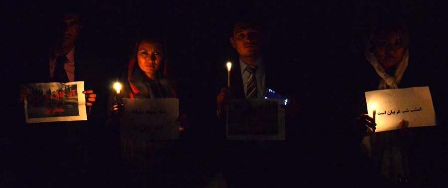 Candlelight Vigil On Kabul Attacks (3)
