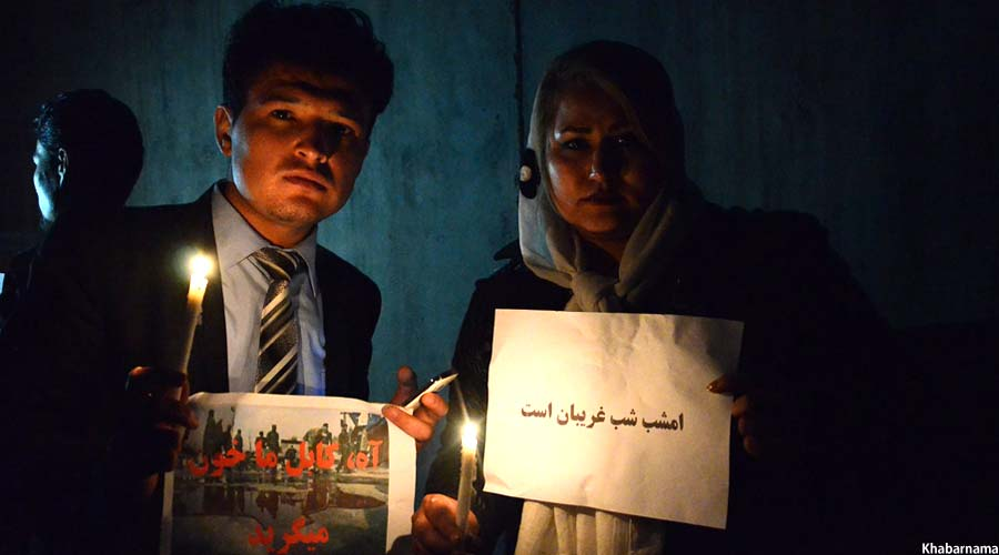 Candlelight Vigil On Kabul Attacks (7)