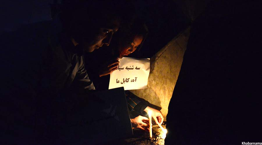 Candlelight Vigil On Kabul Attacks (8)