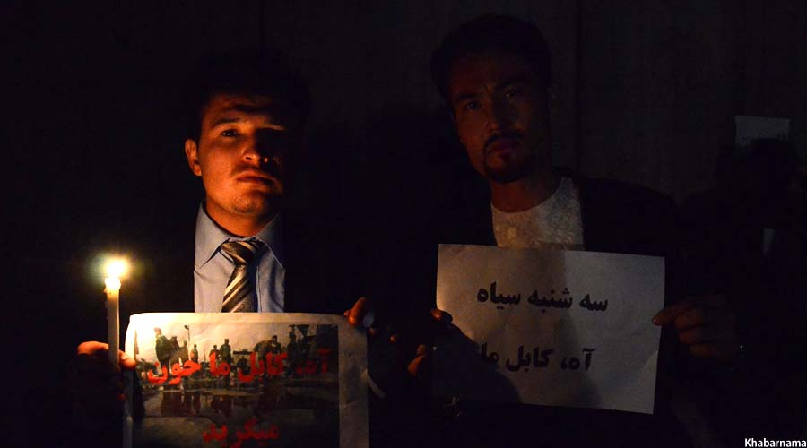 Candlelight Vigil On Kabul Attacks (9)