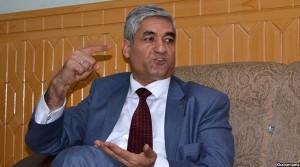 فرید حمیدی، لوی سازنوال افغانستان درجریان گفتگو با خبرنامه