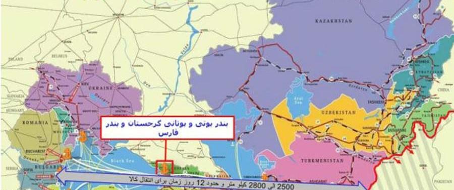 Lajaward route