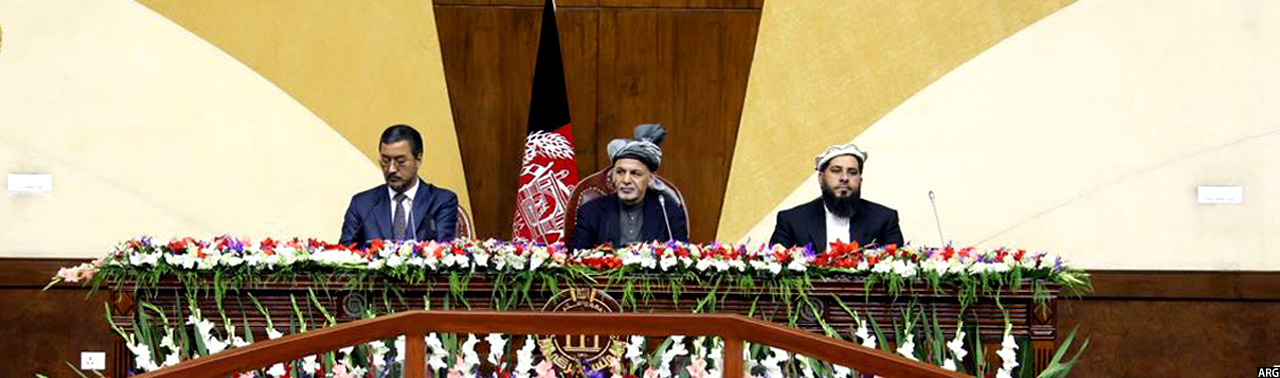 President-ghani-with-Parliament-Speaker