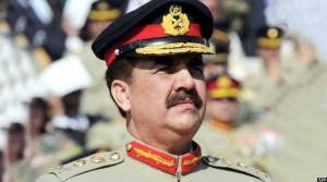 راحیل شریف، رییس ستاد ارتش پاکستان