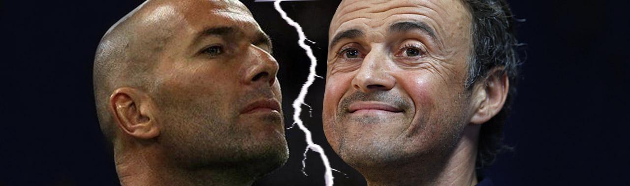 Zidan vs Luis RMvFCB