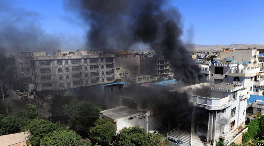 حمله بالای قونسولگری هند در ولایت هرات