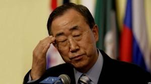 بان کی مون، سرمنشی سازمان ملل متحد