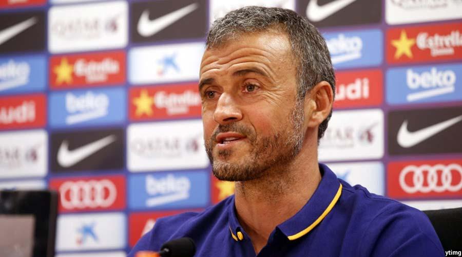 سر مربی بارسلونا پس از برد دو بر یک تیم اش مقابل اتلتیکو