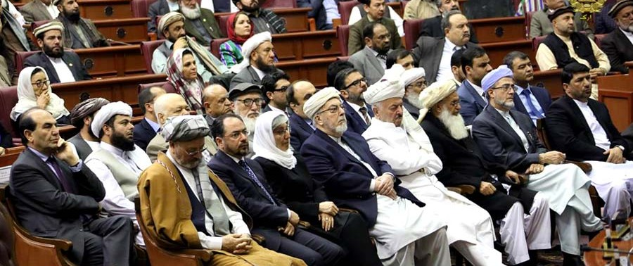 politations in Afghan Parliament