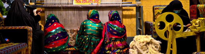 مرکز فرش و قالین افغانستان آغاز به کار کرد