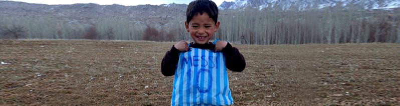 مسی کوچک در آستانه ورود به امریکا