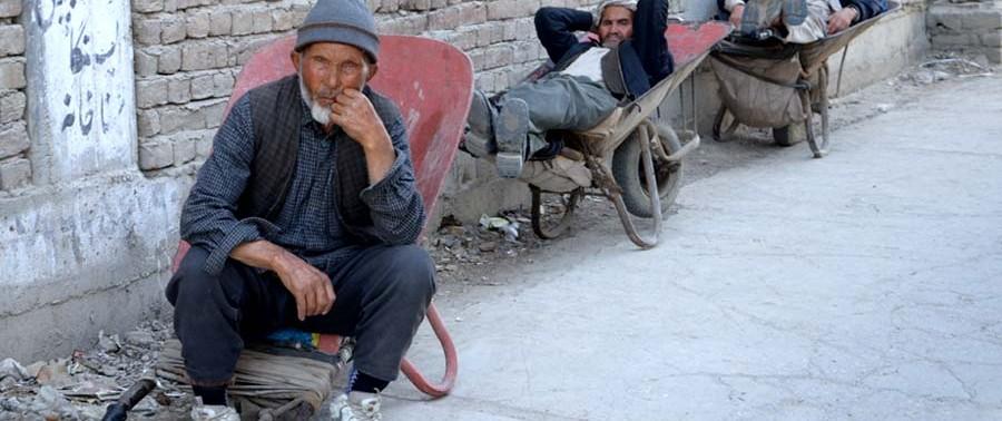 Afghan labors