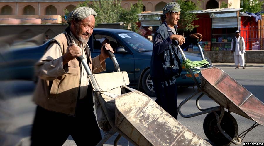 Afghan labors