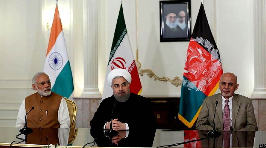 the political leaders of Iran, Afghanistan and India