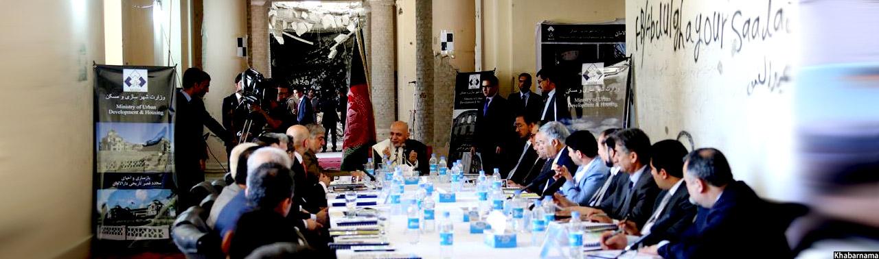 بازسازی دارالامان؛ نگاه متفاوت اشرف غنی به گذشته تاریخی افغانستان