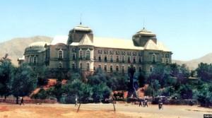 قصر دارالامان در روزگار قدیم