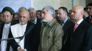 دکتر عبدالله عبدالله در جریان مراسم امروز در قصر دارالامان