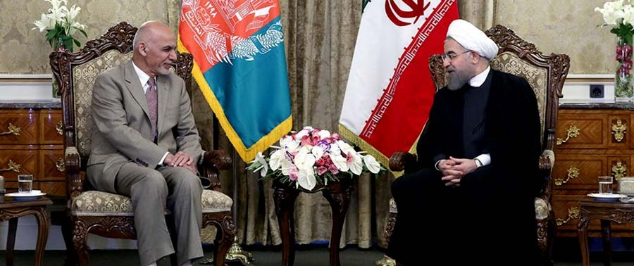 Ghani-with-Rouhani-In-Iran