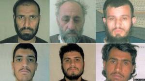 هفته قبل حکومت افغانستان شش عضو گروه طالبان و شبکه حقانی را اعدام کرد