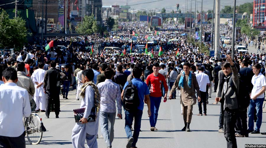 Kabul Protest on TUTAP (1)