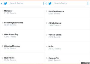 mansour-trending-on-twitter