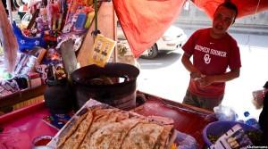 roadside food in Afghanistan