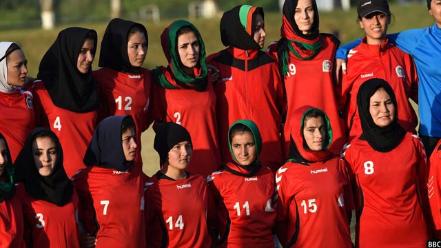 afghanistan football team members
