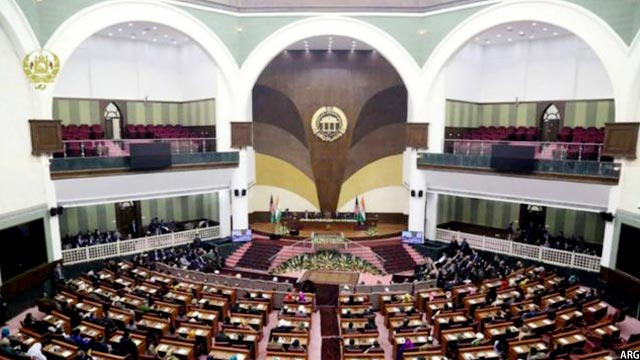 afghan parliament and MPs