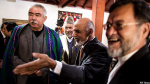 Gen Dostum and Pres. Ghani