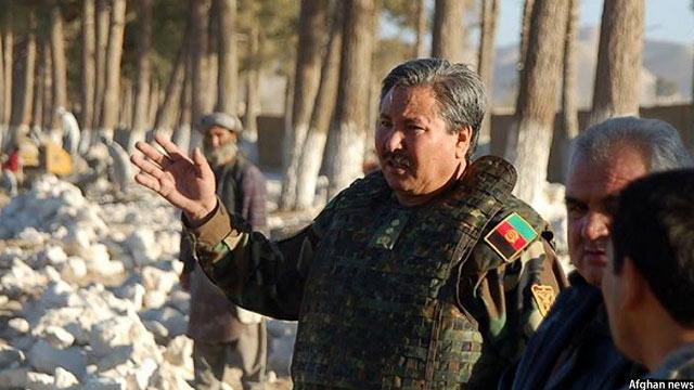 معاون ستاد ارتش افغانستان، جنرال مرادعلی مراد